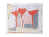 Red Trees, 2002 Giclee Print by Sue Jamieson