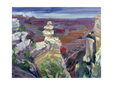 Famous Rock, Grand Canyon, 2000 Giclee Print by Howard Ganz