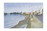 The Thames at Barnes Giclee Print by Isabel Hutchison
