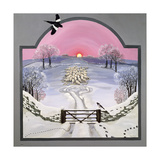 Winter Giclee Print by Maggie Rowe