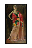 Portrait of Ethel Jacobs of Baltimore, 1927 Giclee Print by Augustus Edwin John