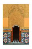 Door, Marrakech, 1998 Giclée-tryk af Larry Smart