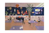 Classroom, Derby, 1985 Giclee Print by Andrew Macara