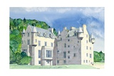Castle Menzies, 1995 Giclee Print by David Herbert