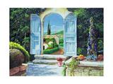 Shuttered Doorway, Volterra, Italy, 1999 Giclee Print by Trevor Neal
