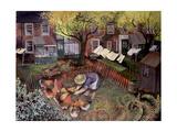 Town Hens, 1995 Giclee Print by Lisa Graa Jensen