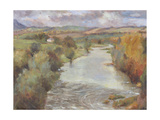 The River Tweed, Roxburghshire, 1995 Giclee Print by Karen Armitage
