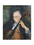 My Cellist, 1996 Giclee Print by Patricia Espir