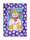 Christmas Snowflakes, 1995 Giclee Print by Cathy Baxter