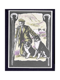Shepherd Laddie O' the Hills, 1997 Giclee Print by Karen Cater