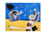A New Beginning, 1989 Giclee Print by Celia Washington