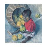 Fito, Twin Son of Abel, Haiti, 1961 Giclee Print by Izabella Godlewska de Aranda