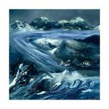 Glacier, 1964 Giclee Print by Sir Sidney Nolan