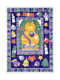 A Cat's Christmas, 1995 Giclee Print by Cathy Baxter
