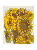 Tournesol Giclee Print by Carol Walklin