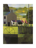 Landscape with Derelict Farm, 1993 Giclee Print by Reg Cartwright