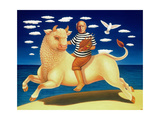 Yo Picasso, 2003 Giclee Print by Frances Broomfield
