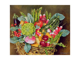 Summer Vegetables, 1995 Giclee Print by E.B. Watts