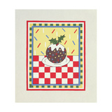 Christmas Pudding Giclee Print by Lavinia Hamer