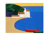 Bay in Southern Brittany, 2004 Giclee Print by Eithne Donne