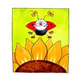 Ladybird Giclee Print by Maylee Christie