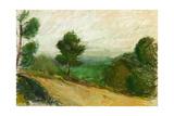 Towards Nice, 2003 Giclee Print by Daniel Clarke
