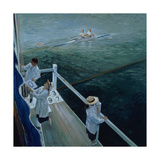 Hoisting Scores, Henley Giclee Print by Timothy Easton