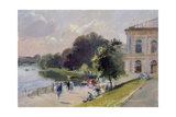 Sparkling Afternoon, Richmond, 1993 Giclee Print by Trevor Chamberlain