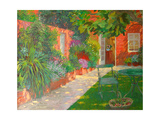 Courtyard Giclee Print by William Ireland