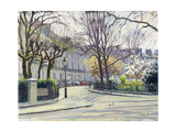 Egerton Crescent, London Lámina giclée por Julian Barrow