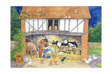 Nativity Giclee Print by Linda Benton