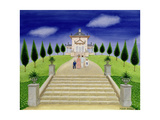 Temple of the Four Winds Giclee Print by Mark Baring