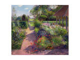 Morning Break in the Garden, 1994 Giclee Print by Timothy Easton