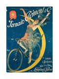 Poster Advertising 'Fernand Clement' Bicycles Lámina giclée por  Pal