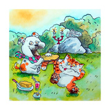 Picnic Giclee Print by Maylee Christie