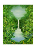The Everlasting Rain Forest, 1997 Giclee Print by Hannibal Mane
