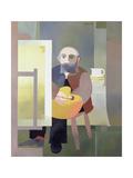 Homage De Douanier Rousseau, 1987 Giclee Print by Reg Cartwright