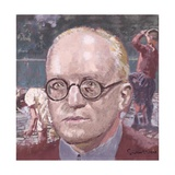 Portrait of Sir Hugh Walpole (1884-1941), 1928 Giclee Print by Walter Richard Sickert