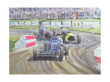 The First Race at the Goodwood Revival, 1998 Giclee Print by Clive Metcalfe