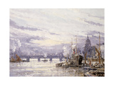 The Pool of London, C.1895 Giclee Print by John Sutton