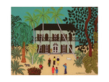 Hemingway's House, Key West, Florida Giclee Print by Micaela Antohi
