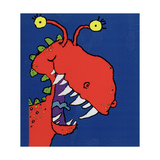 Red Monster, 1998 Giclee Print by Maylee Christie