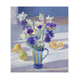 Spring Flowers and Lemons, 1994 Giclee Print by Timothy Easton
