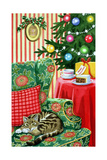 Christmas Tea Giclee Print by Lavinia Hamer