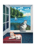 At the Seaside Giclee Print by Jerzy Marek