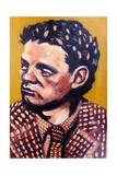 Dylan Thomas Giclee Print by Sara Hayward