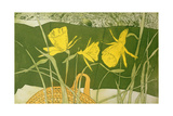 Daffodils Giclee Print by Valerie Daniel