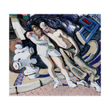 Adam and Eve, South of Market, 1994 Giclee Print by Alek Rapoport