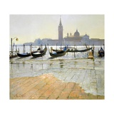 Venice at Dawn Giclee Print by Timothy Easton