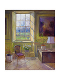 Spring Light and the Tangerine Trees, 1994 Giclee Print by Timothy Easton